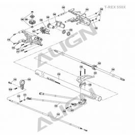 Eflite Rotor Head Linkage Set 4 Bmsr 10531 as well Product01view besides Du Bro 192 Fuel Can Cap Fittings 6625 likewise 250 Scale 500E Fuselage For Align T Rex Helicopters in addition Castle Creations Castle Link Quick Connect 13112. on align 500 heli rc