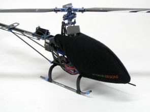 CCTREX450PROBLK CANOPY CONDOM ALIGN - T-REX 450 PRO (BLACK) & Canopy Covers - Various Accessories | Midland Helicopters Ltd