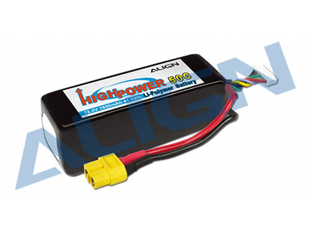 6 Cell Lipos By Count Lithium Polymer Batteries Work With Prolux Lipo Charger This Balancer Can Be Used To 2 3 Hbp18501 Align 6s1p 222v 1850mah 50c Battery